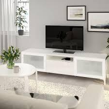 bestå tv bench white selsviken nannarp high gloss white