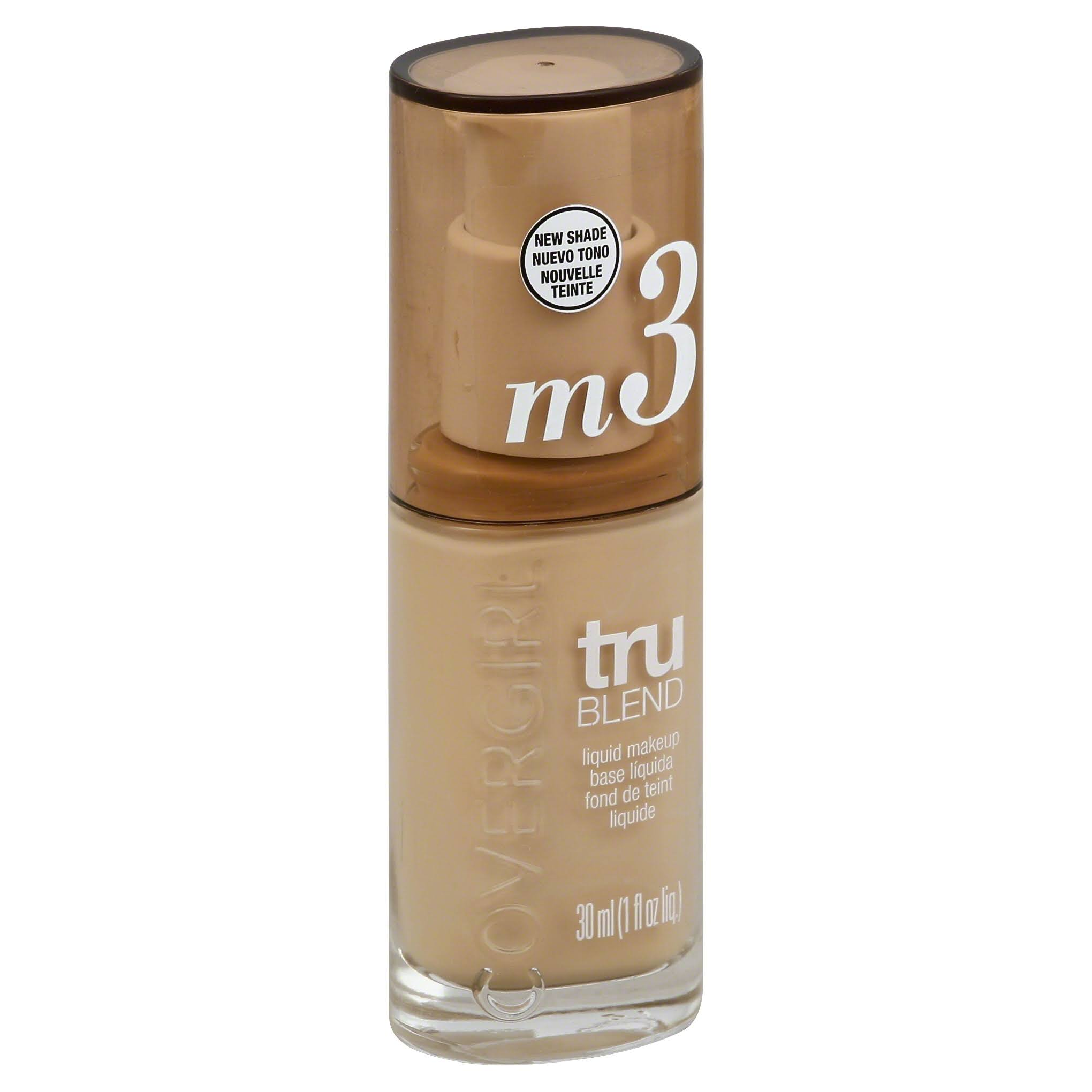 Covergirl Trublend Liquid Makeup - Golden Beige M3, 1oz