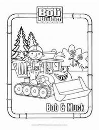 Bob And Muck Coloring Page The Builder Pages For Kids