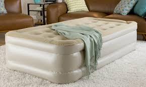 Serta Perfect Sleeper Air Mattress With Headboard by 5 Ways To Get Great Sleep On An Air Mattress Overstock Com