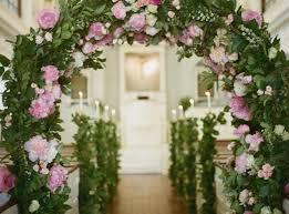 Rustic Wedding Arch Inspirational Church Decorations Stunning