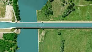 100 Magdeburg Water Bridge Earthglance Germany
