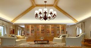 to properly choose a chandelier for living room