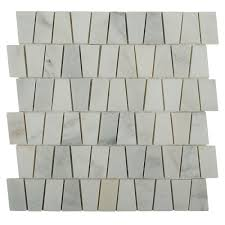 Home Depot Marble Tile by Splashback Tile Artifact Oriental Marble Mosaic Tile 3 In X 6