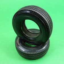 100 Wide Truck Tires Tyres Tires For Tamiya Hercules 114 RC Prime Mover Tractor