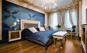 schlafzimmer blau und gold freshouse