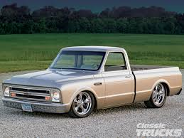 100 72 Chevy Trucks 1968 C10 Pickup Truck Hot Rod Network