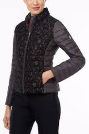 Michael by Michael Kors Lace Quilted Jacket from Toronto by The