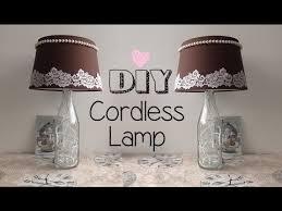 DIY Cordless Study Lamp