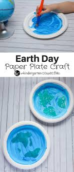 This Paper Plate Craft Is A Fun Hands On Way To Celebrate Earth Day