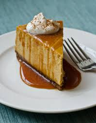 Gingersnap Pumpkin Pie Crust by Pumpkin Cheesecake With Gingersnap Crust And Caramel Sauce Once