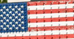 New American Flag Art B