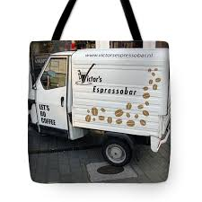 100 Coffee Truck For Sale Tote Bag For By Ausra Huntington Nee Paulauskaite