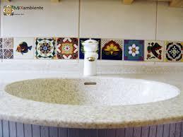 badezimmer mexikanische fliesen bordüre mexambiente