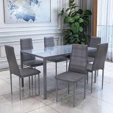 esszimmergruppe essgruppe 6 stühle sitzgruppe esstisch esszimmer stuhl tisch set