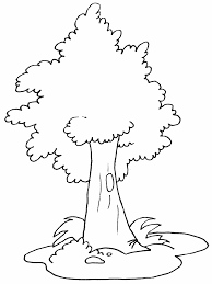 Full Size Of Coloring Pagecoloring Pages Tree Easy For Kids Page Large Thumbnail
