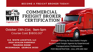 100 How To Become A Truck Broker Commercial Freight Certification 19 OCT 2018