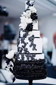 Black And White Wedding Cake We This Moncheribridals
