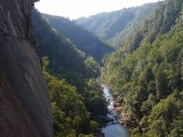 Gorge by Climbing In Tallulah Gorge Tallulah Gorge
