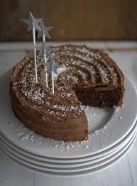 schokoladen zimt torte mit pflaumenmus backrezepte kuchen