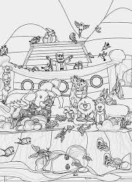 Noah And Rainbow Coloring Pages