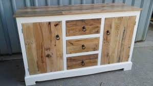 Beautiful Pallet Wood Dresser