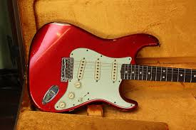 Fender Custom Shop 63 Stratocaster Candy Apple Red Relic