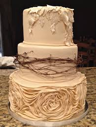 Ivory Rustic Wedding Cakes Ideas 77c9dd6f Saciawedding