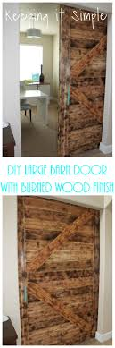 DIY Barn Door With Burned Wood Finish Perfect For Large Openings ... Craftsman Style Barn Door Kit Jeff Lewis Design Diy With Burned Wood Finish Perfect For Large Openings Sliding Designs Untainmodernlifecom Interior Simple For Modern House Wayne Home Decor Sliding Barn Door Our Now A Installing Doors At How To Build A To Install Network Blog Made Remade Double Tutorial H20bungalow Christinas Adventures Pallet 5 Steps 20 Fabulous Ideas Little Of Four