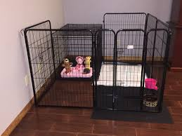 Best Type Of Flooring For Dogs by Best 25 Puppy Playpen Ideas On Pinterest Puppy Crate Crate
