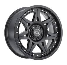 100 6 Lug Truck Wheels Black Rhino Hammer Rims 18x9 X55 X1397 Matte Black 12