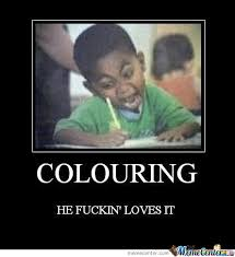 Meme Center Rapefist Likes Page 7 Coloring O 111736 7Black Kid