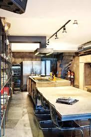 cuisine bois et design d intérieur hotte industrielle cuisine moderne 9 bois et