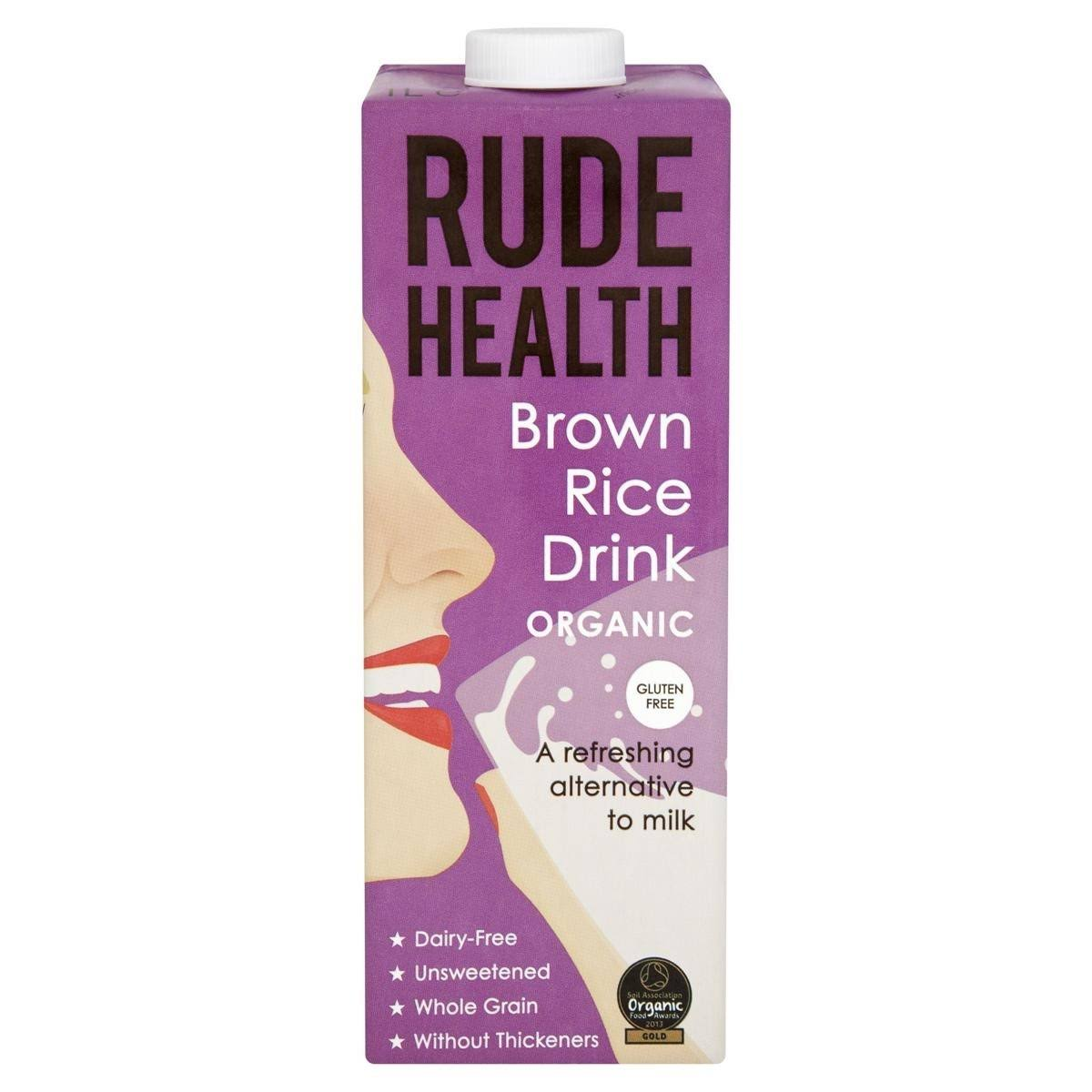 Rude Health Brown Rice Organic Drink - 1000ml