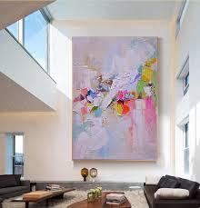 bemalte leinwand ölgemälde abstrakte wand kunst