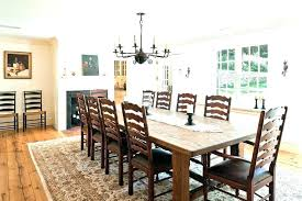 Farm Table Dining Room Round Country Dining Table French Farmhouse