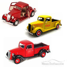 Best Of 1930s Diecast Cars - Set 4 - Set Of Three 1/24 Scale Diecast ...