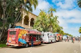 San Diego, JUN 29: Food Truck Day In The Historical Balboa Park ...