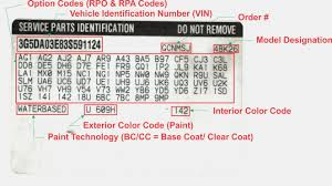 100 Chevy Truck Vin Decoder Chart 16 Things You Most Likely Didnt Know The Information