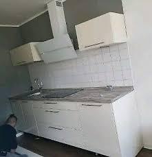 küche in weiß hochglanz zu verkaufen