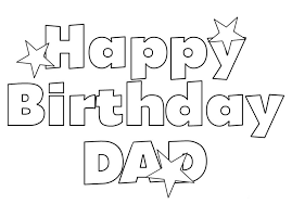 Printable 16 Happy Birthday Dad Coloring Pages 6251