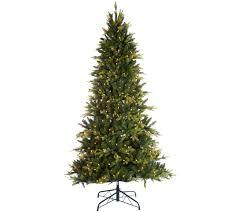 Clear Bulbs For Ceramic Christmas Tree by Christmas Trees U2014 Qvc Com