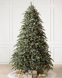 Easy Plug Pre Lit Artificial Christmas Trees