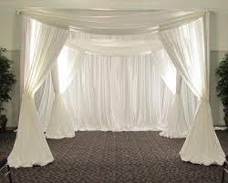 Cheap Wedding Decorations Online by Aliexpress Com Buy 3m 3m 3m White Color Square Canopy Drape