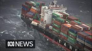 100 Shipping Container Shipping 83 Shipping Containers Fall From Cargo Ship Off Australias East Coast ABC News