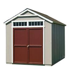 Portable Sheds Jacksonville Florida by Loft Wood Sheds Sheds The Home Depot