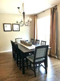 Dining Table Light Fixture Off Center Unique Room In