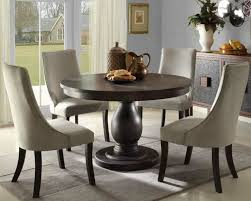 creative design round dining room sets for 4 charming dining table