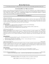 Nursing Supervisor Resume This Is Retail Examples Of Objectives For Management Work Nurse Manager