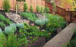 Design Of Sloping Backyard Landscaping Ideas Landscape For Sloped